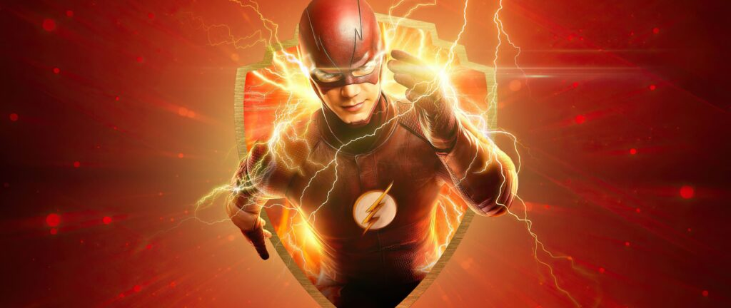 The Flash Computer Background