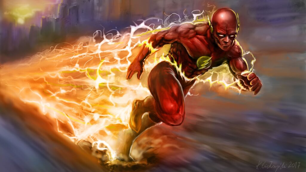 The Flash Pc Background