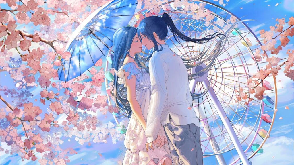 Anime Couple Wallpaper Hd