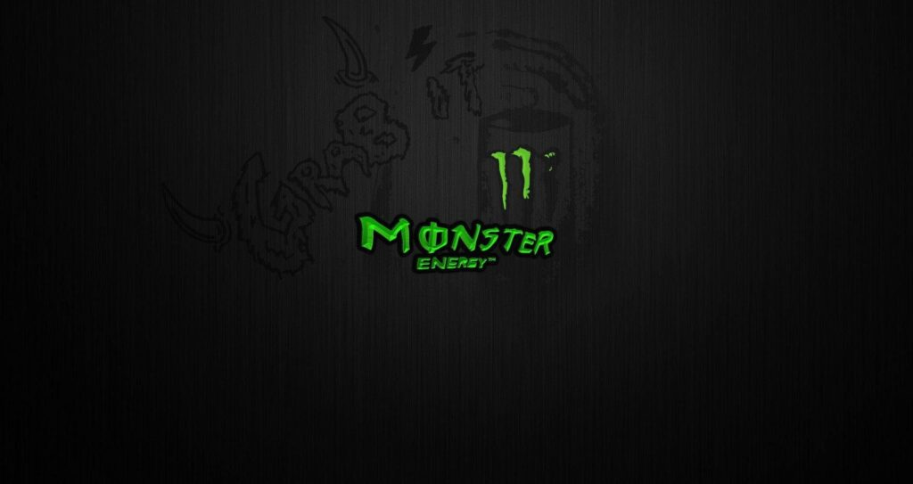 Monster Logo Desktop Background