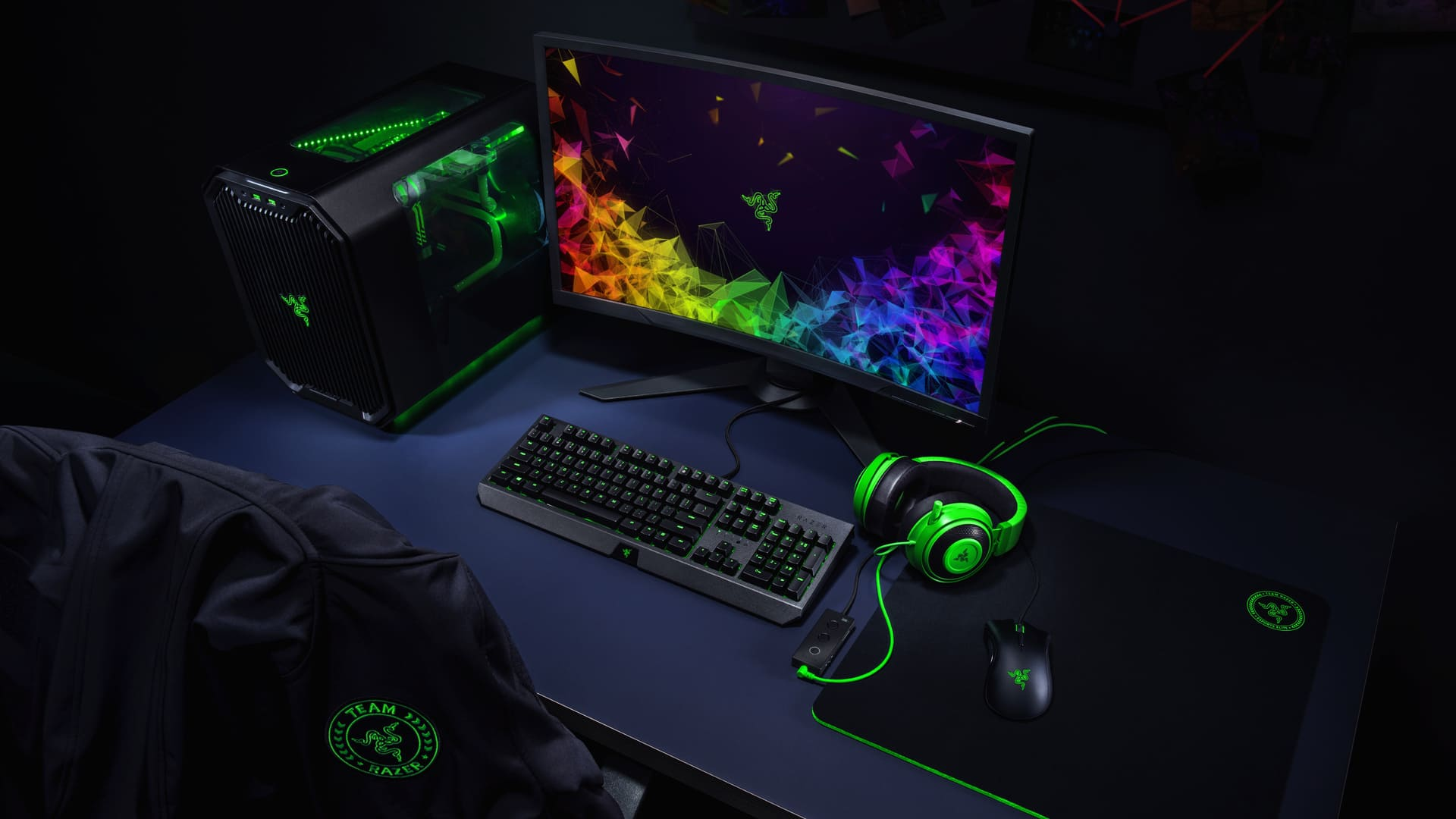Razer Green Logo Desktop Wallpaper