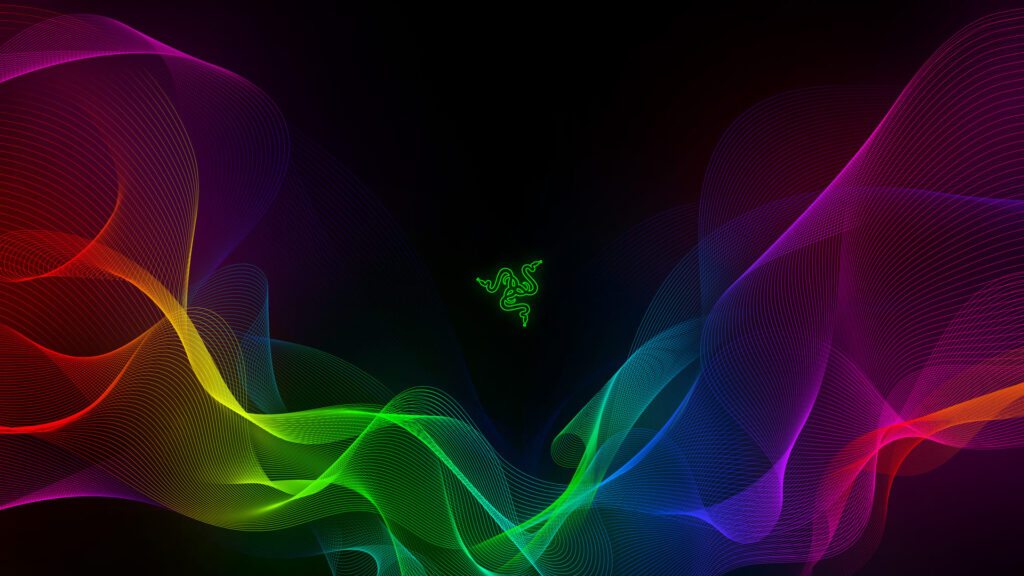 Razer Green Logo Pc Background
