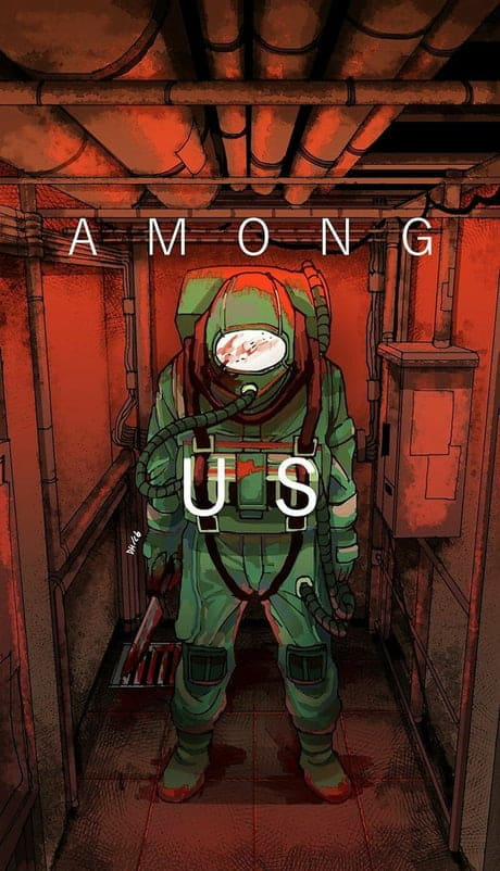 Among Us Mobile Wallpaper 4k