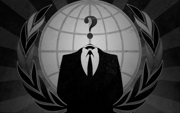 anonymous background