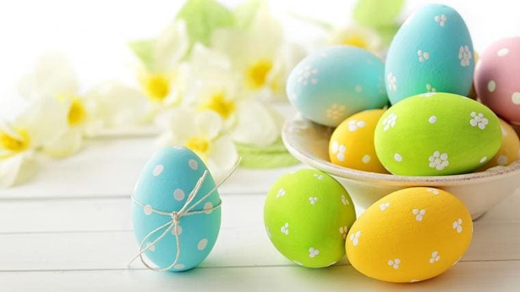 easter computer background