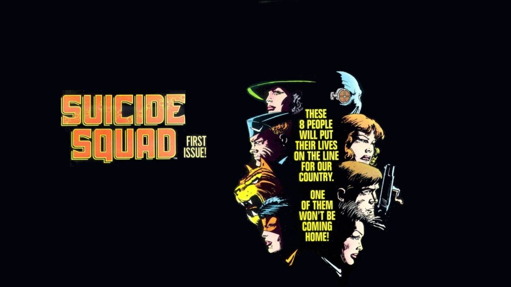 the suicide squaddesktop background